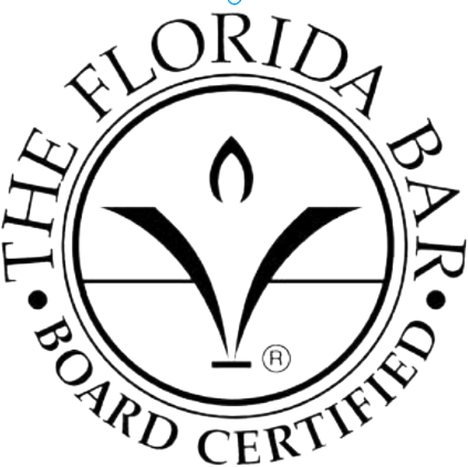 A Board-Certified Civil Trial Lawyer by The Florida Bar
